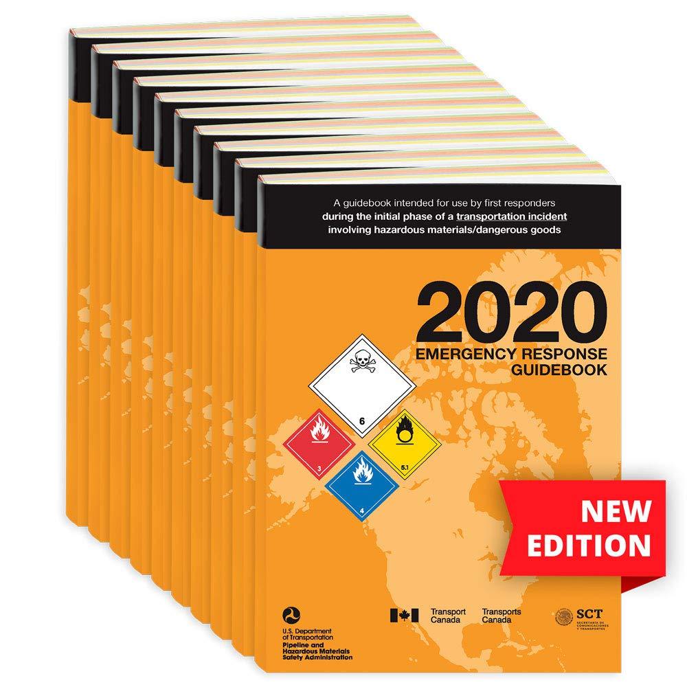 Max 74% OFF 2020 Emergency Response 2021 new Guidebook ERG English 5.5