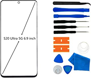 Original Galaxy S20 Ultra 5G Screen Replacement, Front Outer Lens Glass Screen Replacement Repair Kit for Samsung Galaxy S...