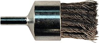 1 Diameter Stainless Steel Bristle 0.006 Fill Diameter 20000 RPM 2-3//4 Length Osborn 30438 Knot Wire End Brush