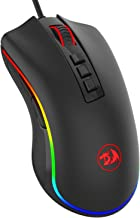 yellow gaming mouse
