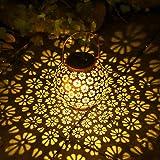 Osaloe Lanterna Solare per Esterni, Lampada da Giardino Impermeabile IP65, Illuminazione S...