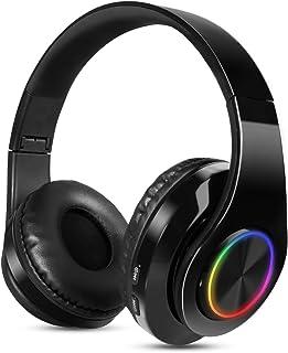 Auriculares Inalambricos Diadema con Microfono Sendowtek Cascos Bluetooth Inalámbrico Auriculares Cancelacion de Ruido Alt...