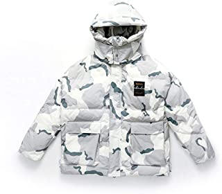 Home Garden Unique Gifts Down Jacket Men PackableWinter Jacket Down Men's Winter Jacket Windproof Jacket Warm Comfort Stand Collar Hooded Double Design Detachable Outdoor Clothing Travel
