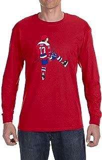 Tobin Clothing Navy Washington Oshie Long Sleeve Shirt
