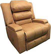 Classic Recliner Chair Upholstered AB07 - Beige