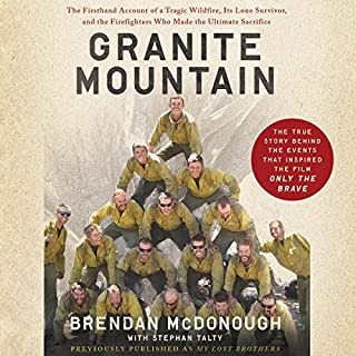 Granite Mountain audiobook cover art