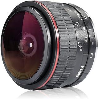 MEKE 6.5mm f2.0 Ultra Wide Fisheye Lens for Sony A9 A7III A7RIII A6400 A6500 A6000 A6100 A6300 Nex3 Nex5 Nex6 Nex7 A7II A7...