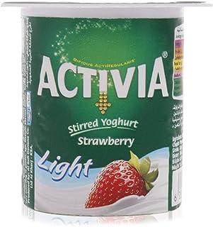 Activia Strawberry Light Yoghurt - 120 gram