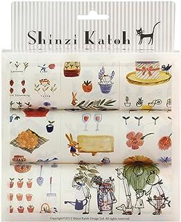 シール堂 Shinzi Katoh 9ロールボックス シールセット ハーブガーデン ks-rs9-hg0100