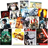 Star Wars Poster Wall Decoration Art Set ~ 48 Pack Star Wars Prints (8' x 11') Featuring Darth Vader, Yoda, Luke Skywalker, R2D2, and More (Star Wars Room Decor Bundle)