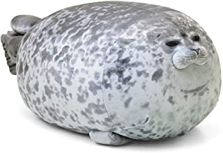 MerryXD Chubby Blob Seal Pillow,Stuffed Cotton Plush...