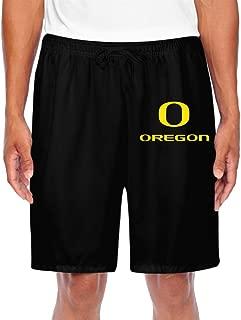 ZOENA Men's Unique University Of Oregon Scanties Black