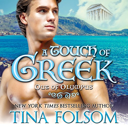 A Touch of Greek audiobook cover art