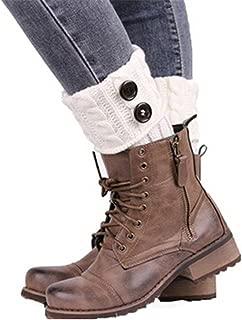 HENGSONG Damen Stricken Stulpen Socken Boot Abdeckung