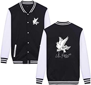 Lil Peep Baseball Jacket Unisex Couple Wear Jacket