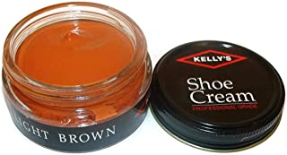 Shoe Cream - Professional Shoe Polish - 1.5 oz - Multiple Colors Available