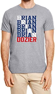 Gray Los Angeles Dozier Text T-Shirt