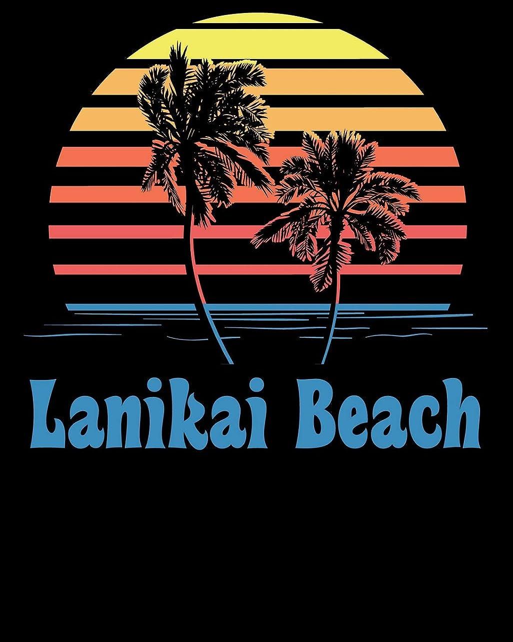 影響力のある錫近似Lanikai Beach: Beach Vacation Travel Planner and Journal (8 x 10)