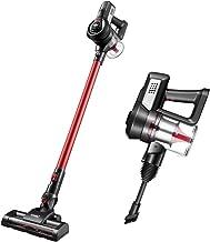 MAXKON Cordless Vacuum Cleaner Upright Stick Handheld Vac Bagless W/ 2-Speed Red