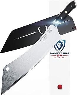 Dalstrong – Cuchillo de chef Crixus extra grande de 12 pulgadas – Shogun Series – japonés AUS-10V Super Acero – con vaina