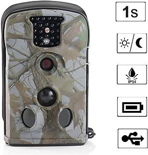 ZY Scouting Cámara De La Caza De Trampa Trail Cámaras Juego 12MP Prueba De Agua con Visión Nocturna No Glow 0.5 S Tiempo De Activación Activados por Movimiento