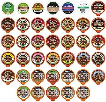 40-Pack Decaf Flavored Coffee Variety Pack