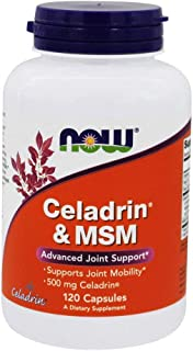 NOW Foods - Celadrin and MSM Advanced Joint Support 500 mg. - 120 Capsules