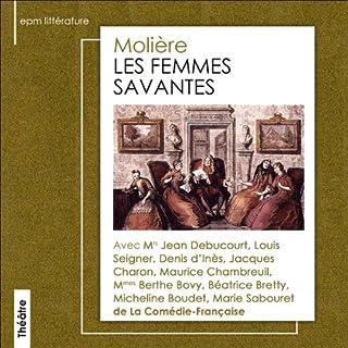 Les femmes savantes audiobook cover art