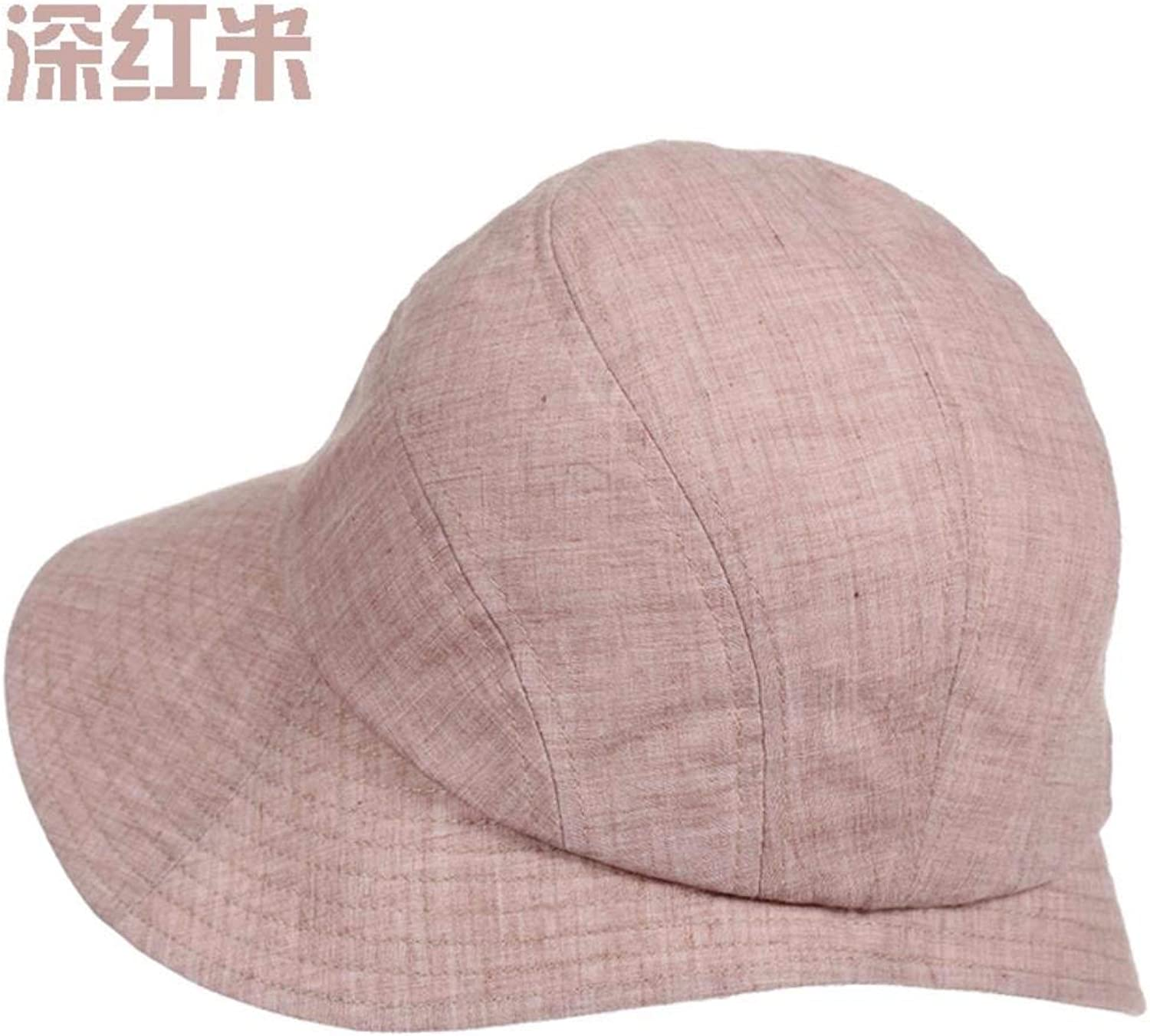 Dingkun The new summer leisure basin cap Female Cap summer outdoor sun hat fisherman hat