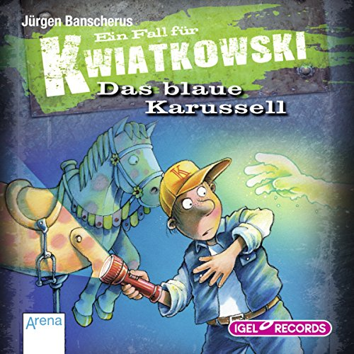 Das blaue Karussell audiobook cover art
