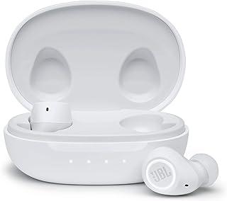 JBL Free II Wodoodporne True-Wireless In-Ear-Sport słuchawki w kolorze białym - Strumieniowanie muzyki do 24 godzin