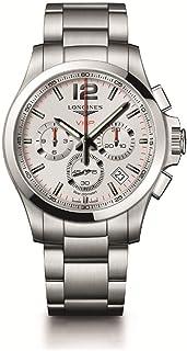 [浪琴]LONGINES 手表 孔眼 V.H.P. 石英 计时码表 永久性日历 L3.717.4.76.6 男式
