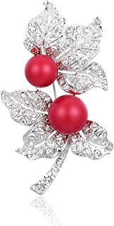 RAINBOW BOX Brooch Pins for Women,Rhinestone from Swarovski Crystal Jewelry Women's Brooches & Pins