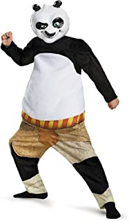 Panda-Po Deluxe/Muscle Costume, Large (10-12)