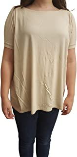 Women's Famous Short Sleeve Bamboo Top Loose Fit