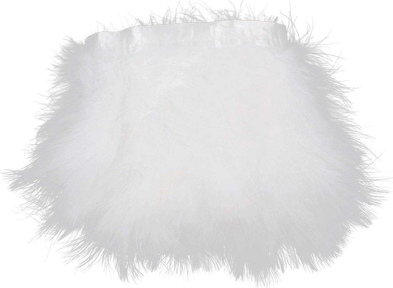 AWAYTR Turkey Outlet SALE Marabou Hackle Fluffy Feather Trim Craft Bargain Fringe 6-
