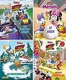 Nelson Mini-Bücher: 4er Disney Micky und die Flinken Flitzer 1-4 -