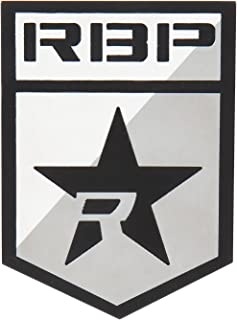 RBP RBP-501SS RBP Badge with Logo and R-Star - 2 Pieces / Stainless Steel - Exterior Accessory for Cars SUV and Trucks