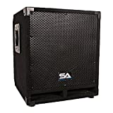 Seismic Audio Mini-Tremor Powered 12-Inch Pro Audio/DJ Subwoofer Cabinet Active 12-Inch Su...