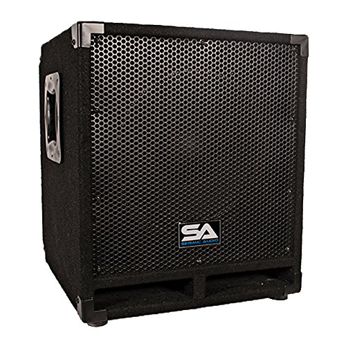Seismic Audio Mini-Tremor Powered 12-Inch Pro Audio/DJ Subwoofer Cabinet Active 12-Inch Subwoofer