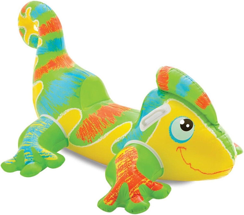 GYL Aufblasbare Kindereidechse-Sich hin- und herbewegende Reihe, Swimmingpool-Schwimmer-aufblasbares Spielzeug Erwachsener u (Farbe   9503008900)
