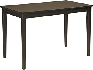 Signature Design by Ashley Kimonte Dining Room Table, Black