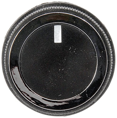 Dorman 76852 HVAC Heater Control Knob for Select Chevrolet/GMC Models, Black