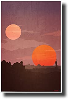star wars poster tatooine