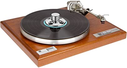 GAOHOU Vinyl Record Player Accessories Audio LP Vinyl Turntables Metal Disc Stabilizer Record Weight Clamp Silver