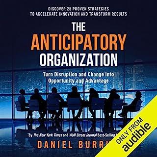 The Anticipatory Organization audiobook cover art