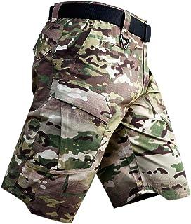 ANTARCTICA Men's Tactical Cargo Shorts Lightweight Waterproof Ripstop Summer Casual Hiking Pants