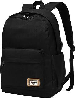 Modoker Travel Laptop Backpack Rucksack for Womens Mens, College School Book Bag Vintage Backpack with USB Charging Port, ...