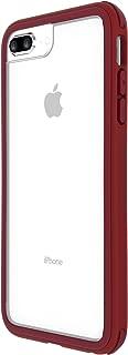 iPhone Protective Bumper case Back Cover Slim Design Drop Protection Anti-Shock Scratch Compatible with iPhone 8 Plus /7 Plus /6S Plus /6 Plus, Maroon,Venus【SOLiDE】