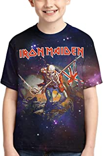 Boys,Girls,Youth Iron Maiden Tee Shirt